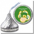 St. Patrick's Baby Shamrock - Hershey Kiss Baby Shower Sticker Labels thumbnail