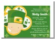 St. Patrick's Baby Shamrock - Baby Shower Petite Invitations thumbnail