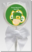 St. Patrick's Baby Shamrock - Personalized Baby Shower Lollipop Favors