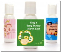 St. Patrick's Baby Shamrock - Personalized Baby Shower Lotion Favors