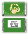 St. Patrick's Baby Shamrock - Personalized Baby Shower Mini Candy Bar Wrappers thumbnail