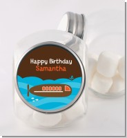 Submarine - Personalized Birthday Party Candy Jar