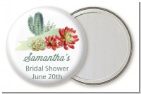Succulents - Personalized Bridal Shower Pocket Mirror Favors