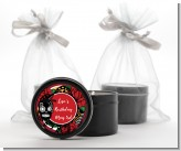 Sugar Skull - Birthday Party Black Candle Tin Favors