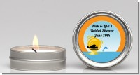 Sunset Trip - Bridal Shower Candle Favors