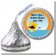 Sunset Trip - Hershey Kiss Bridal Shower Sticker Labels thumbnail