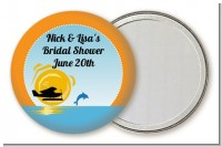Sunset Trip - Personalized Bridal Shower Pocket Mirror Favors