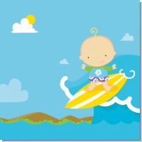 Surf Boy Baby Shower Theme