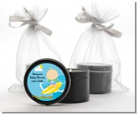 Surf Boy - Baby Shower Black Candle Tin Favors