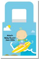 Surf Boy - Personalized Baby Shower Favor Boxes
