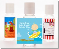 Surf Boy - Personalized Baby Shower Hand Sanitizers Favors