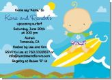 Surf Boy - Baby Shower Invitations
