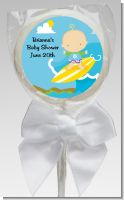 Surf Boy - Personalized Baby Shower Lollipop Favors