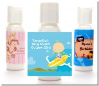 Surf Boy - Personalized Baby Shower Lotion Favors