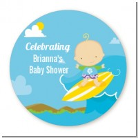 Surf Boy - Personalized Baby Shower Table Confetti