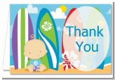 Surf Boy - Baby Shower Thank You Cards