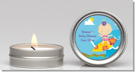 Surf Girl - Baby Shower Candle Favors
