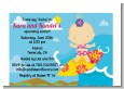 Surf Girl - Baby Shower Petite Invitations thumbnail