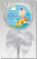 Surf Girl - Personalized Baby Shower Lollipop Favors