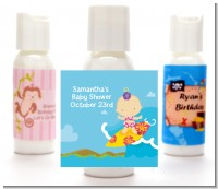 Surf Girl - Personalized Baby Shower Lotion Favors