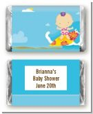 Surf Girl - Personalized Baby Shower Mini Candy Bar Wrappers