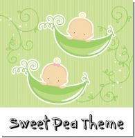 Sweet Pea Baby Shower Theme
