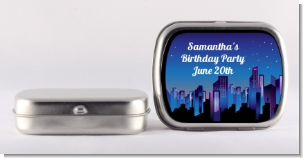 Sweet 16 Limo - Personalized Birthday Party Mint Tins