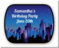 Sweet 16 Limo - Personalized Birthday Party Rounded Corner Stickers
