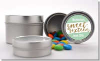 Sweet 16 - Custom Birthday Party Favor Tins
