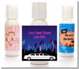 Sweet 16 Limo - Personalized Birthday Party Lotion Favors