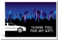 Sweet 16 Limo - Birthday Party Thank You Cards