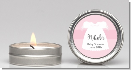 Sweet Little Lady - Baby Shower Candle Favors