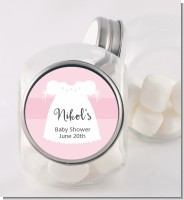 Sweet Little Lady - Personalized Baby Shower Candy Jar