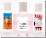 Sweet Little Lady - Personalized Baby Shower Hand Sanitizers Favors