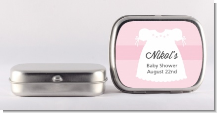 Sweet Little Lady - Personalized Baby Shower Mint Tins