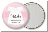 Sweet Little Lady - Personalized Baby Shower Pocket Mirror Favors
