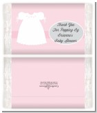 Sweet Little Lady - Personalized Popcorn Wrapper Baby Shower Favors