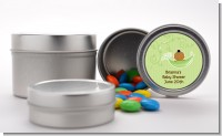 Sweet Pea African American Boy - Custom Baby Shower Favor Tins