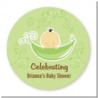 Sweet Pea Asian Boy - Personalized Baby Shower Table Confetti