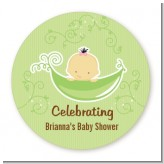 Sweet Pea Asian Girl - Personalized Baby Shower Table Confetti