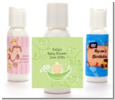 Sweet Pea Caucasian Boy - Personalized Baby Shower Lotion Favors