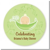 Sweet Pea Caucasian Boy - Personalized Baby Shower Table Confetti