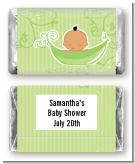 Sweet Pea Hispanic Boy - Personalized Baby Shower Mini Candy Bar Wrappers