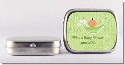 Sweet Pea Hispanic Boy - Personalized Baby Shower Mint Tins
