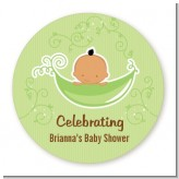 Sweet Pea Hispanic Boy - Personalized Baby Shower Table Confetti