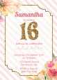 Sweet Sixteen - Birthday Party Invitations thumbnail