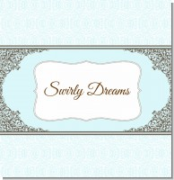Light Blue & Grey Bridal Theme