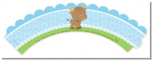 Bull | Taurus Horoscope - Baby Shower Cupcake Wrappers