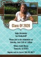 Teal & Brown - Graduation Party Invitations thumbnail