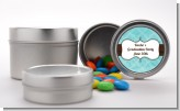 Teal - Custom Graduation Party Favor Tins